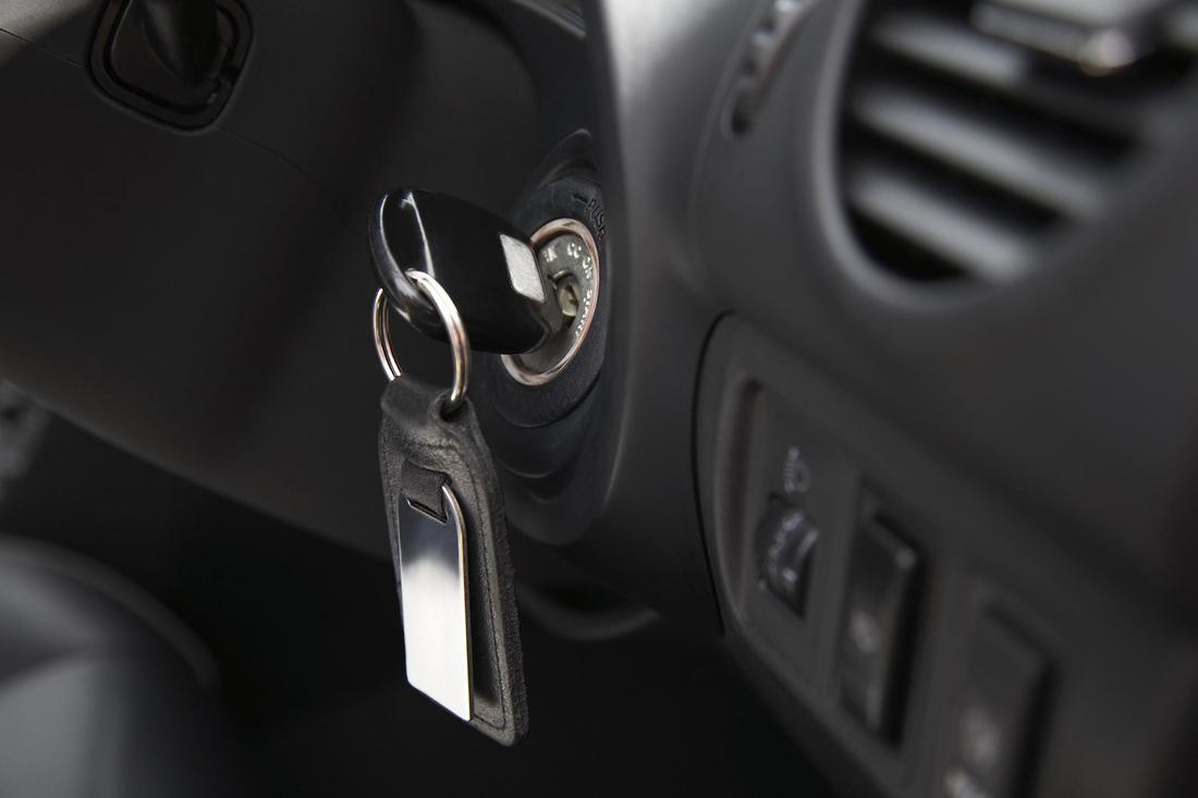 This is a picture of a car key.
